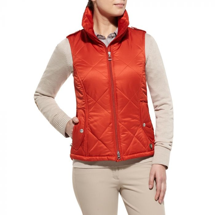Ariat Womens Terrace Vest - Persimmon