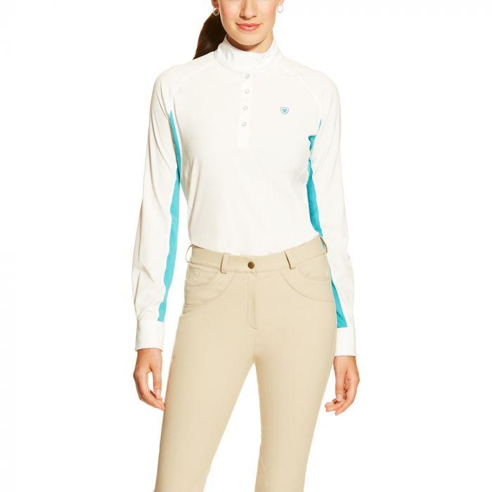 Ariat Aero Show Shirt - White / Bluebird