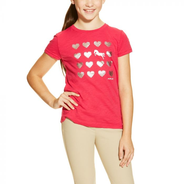 Ariat Girls Heart Tee