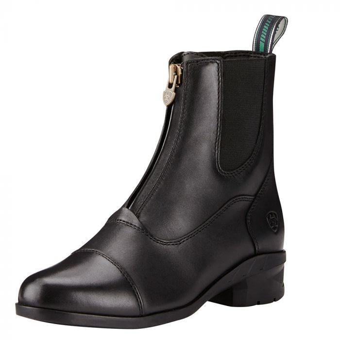 Ariat WMNS Heritage IV Zip Paddock Boot - Black