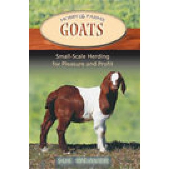"""Book """"GOATS: Small-Scale Herding for Pleasure and Profit"""" by Sue WEAVER"""