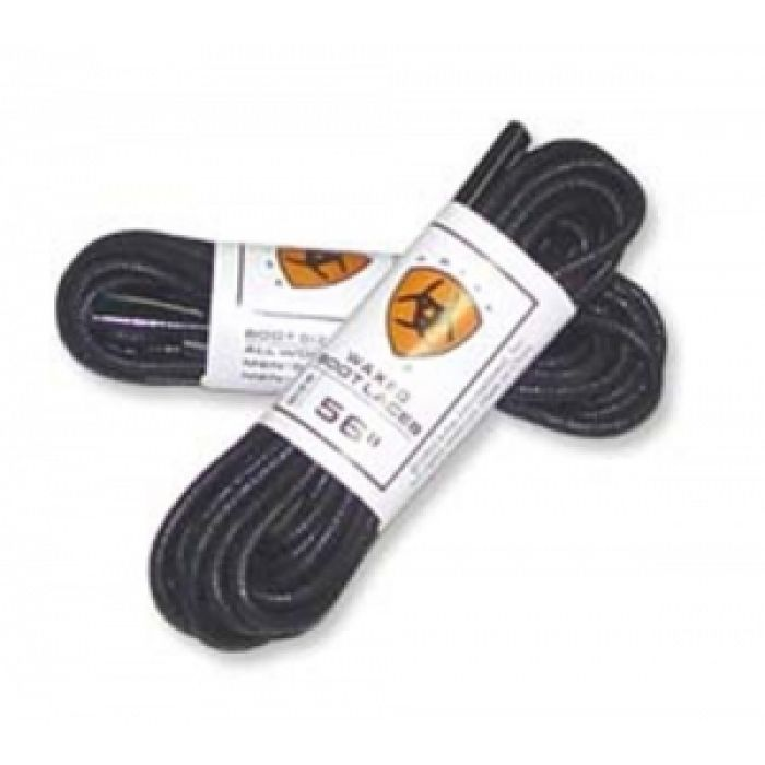 "Ariat unisex waxed laces - 56"" - Black"
