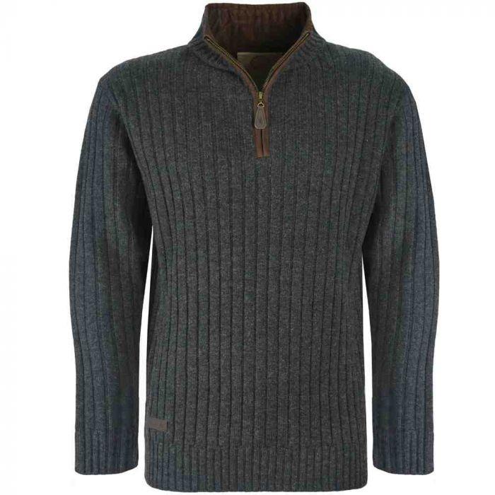 Thomas Cook Albury 1/4 Zip Knitted Jumper