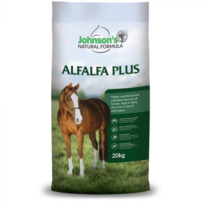 Alfalfa Plus 20kg - Johnsons