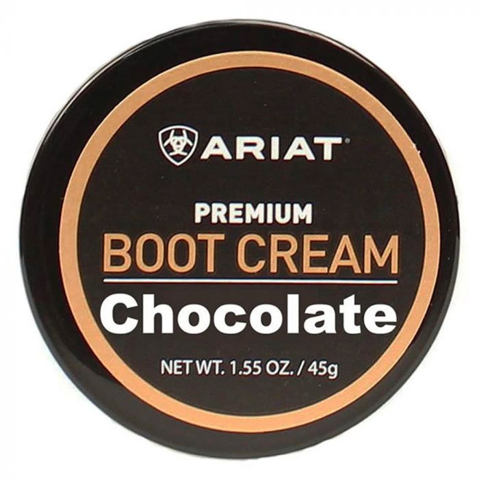 Ariat Boot Cream - Chocolate 45g