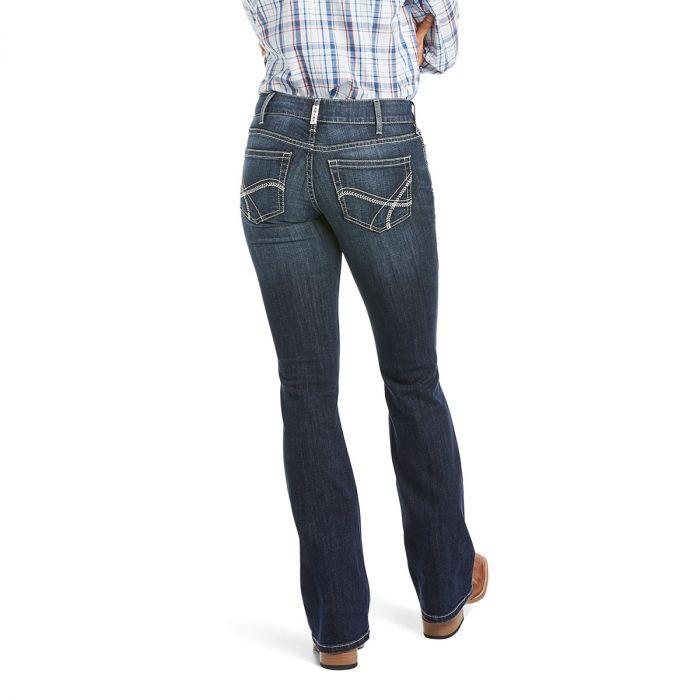 Ariat R.E.A.L. Riding Jeans - Mid Rise - Boot Cut - Arrow Fit - Esther