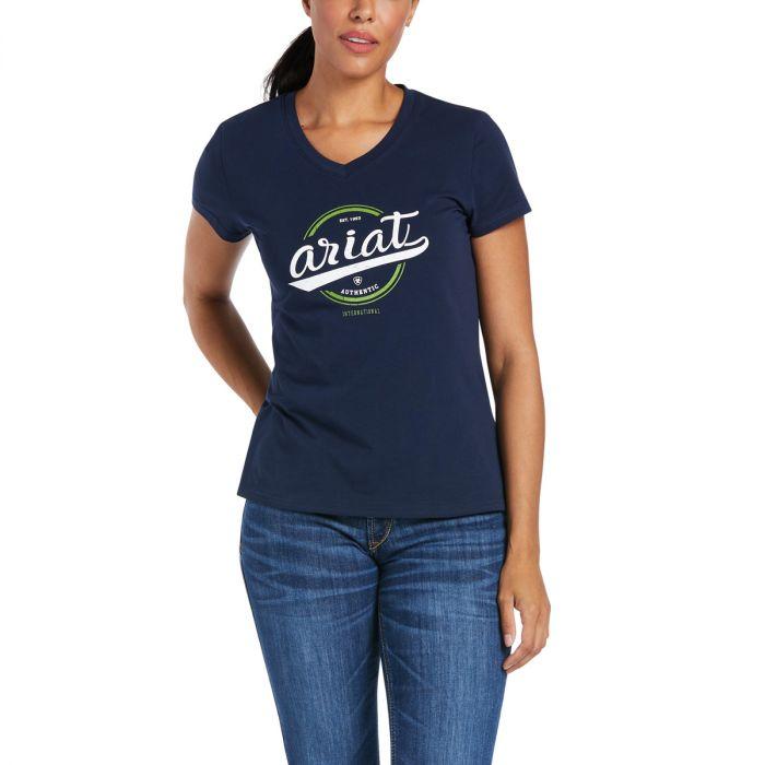 Ariat Authentic Logo T-Shirt - Navy