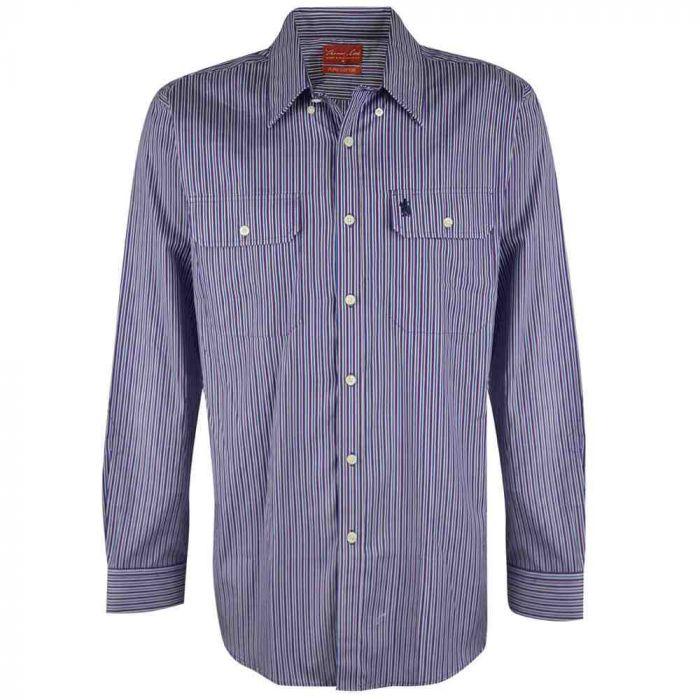 Thomas Cook Barcaldine Long Sleeve Striped Shirt