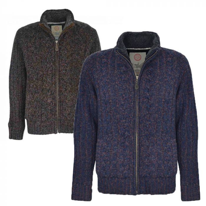 Thomas Cook Beaconsfield Zip Knitted Jumper