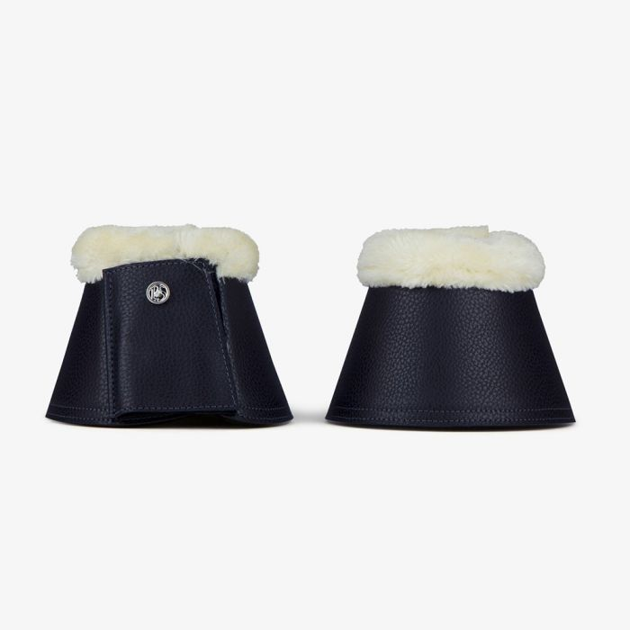 PSOS Monogram Bell Boots - Deep Sapphire
