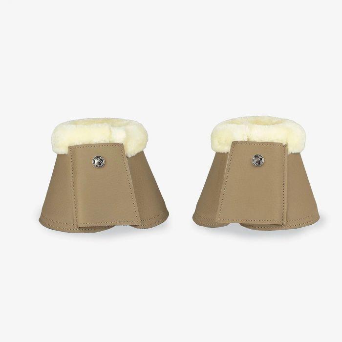 PSOS Monogram Bell Boots - Sand