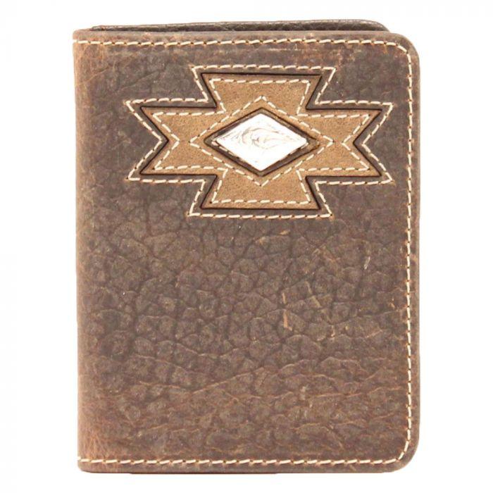 Ariat Men's Bi-Fold Aztec Diamond Wallet