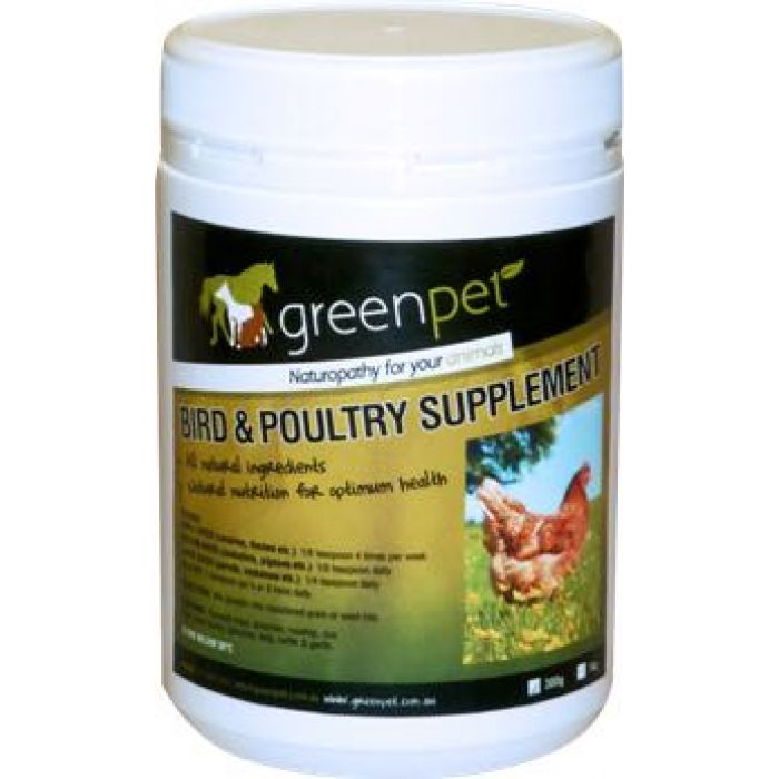 Greenpet Supplement for Birds and Poultry