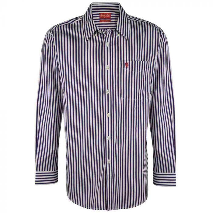 Thomas Cook Bothwell Long Sleeve Striped Shirt