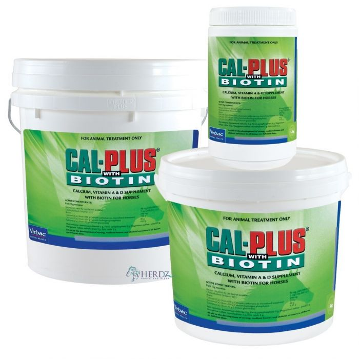 Virbac Cal Plus Biotin for horses