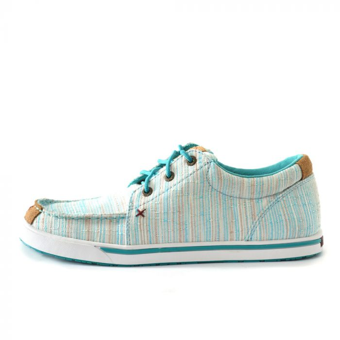 Twisted X Ladies Casual Lace Up - Blue/Multi