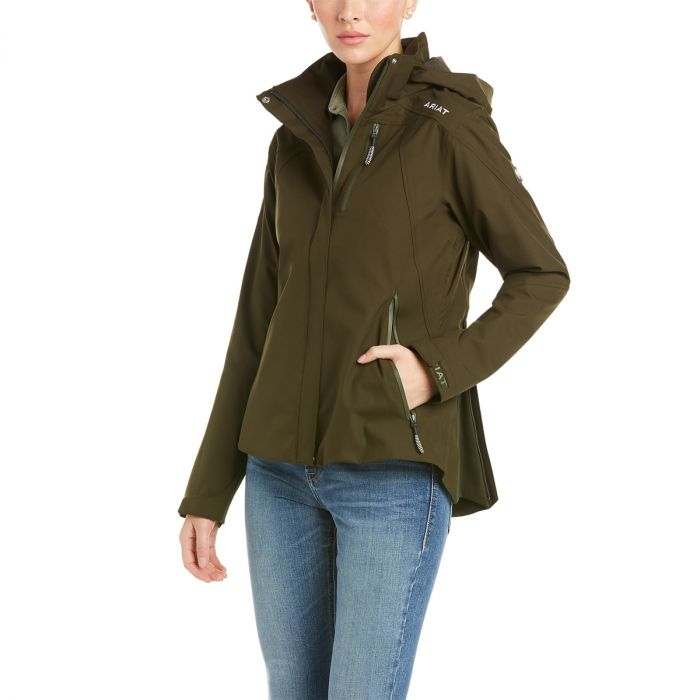 Ariat Womens Coastal Waterproof Jacket - Relic