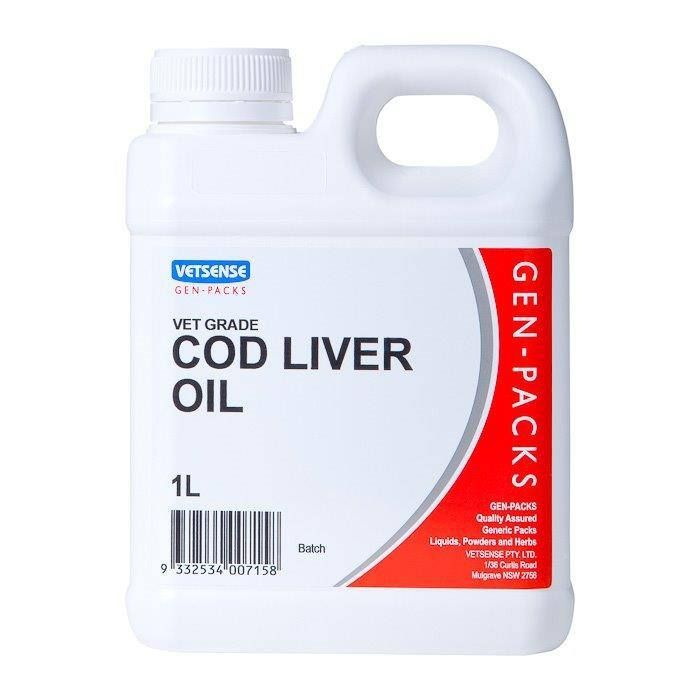 Vetsense Cod Liver Oil - 1L