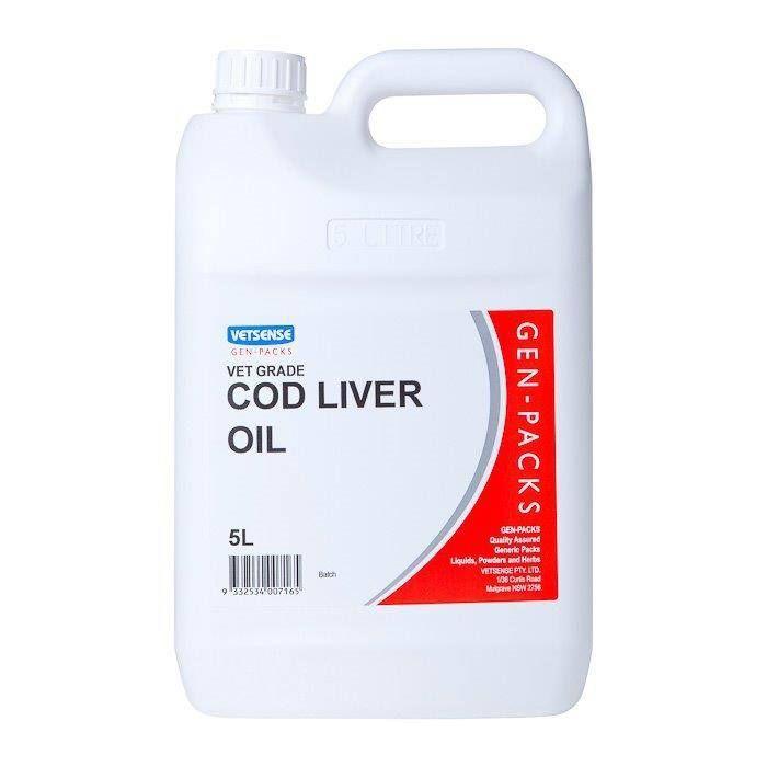 Vetsense Cod Liver Oil - 5L