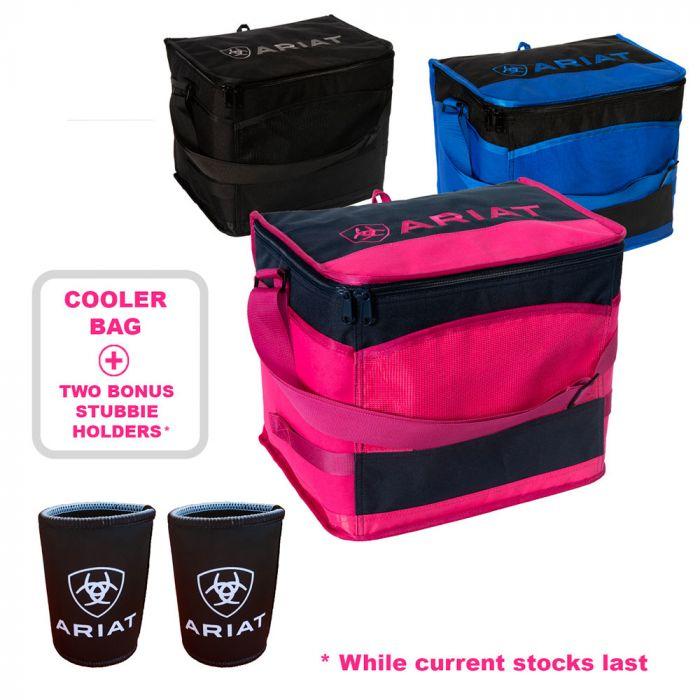 Ariat Cooler Bag plus two bonus Stubbie Holders