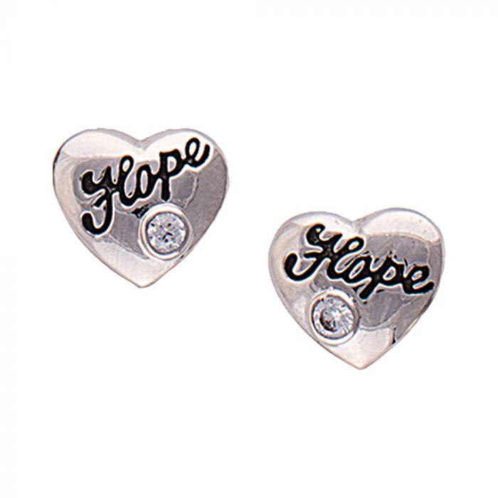 Montana - Cowgirl's Heart of Hope Earrings
