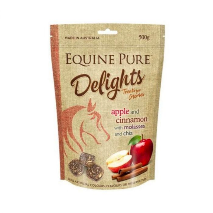 Equine Pure Delights Treats 500g - Apple and Cinnamon