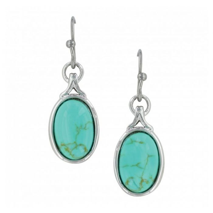 Earrings - On Top of the World Turquoise