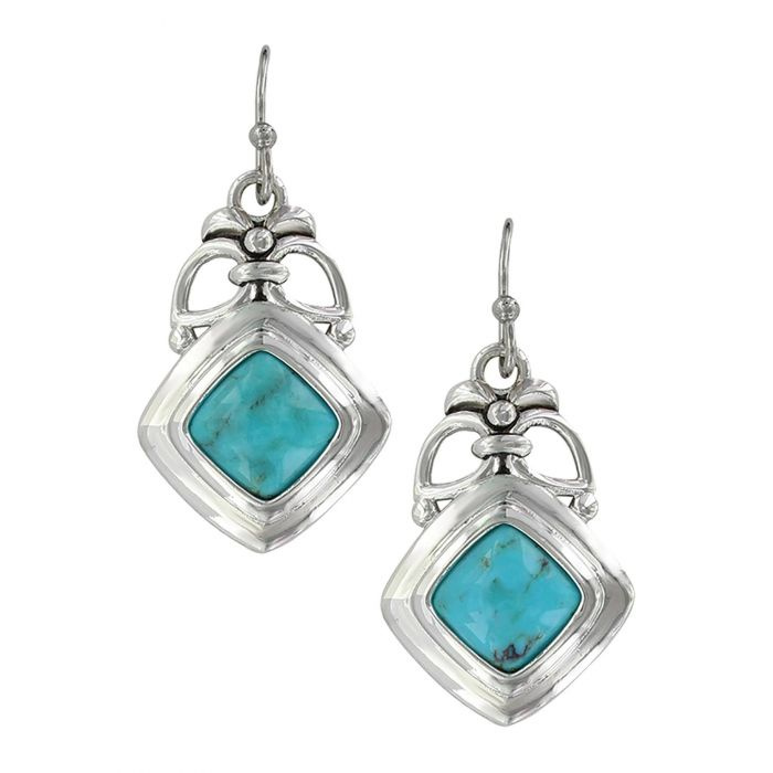 Montana Earrings - Turquoise Key