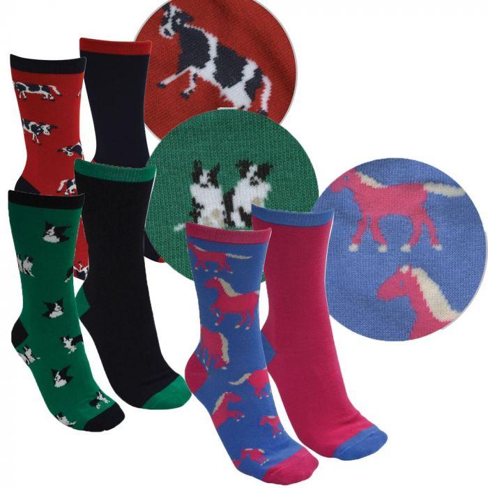 Thomas Cook Kids Farmyard Socks