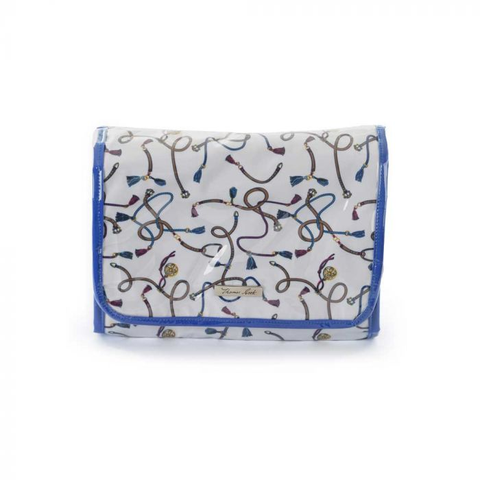Thomas Cook Fold out bag with hook - Blue Multi