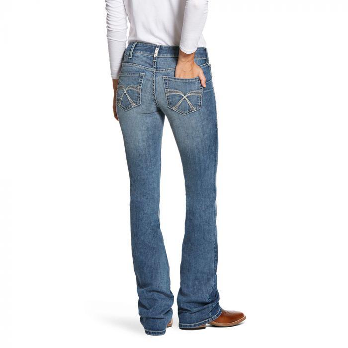 Ariat Womens R.E.A.L. Riding Jeans - Low Rise - Boot Cut - Franky, Lita