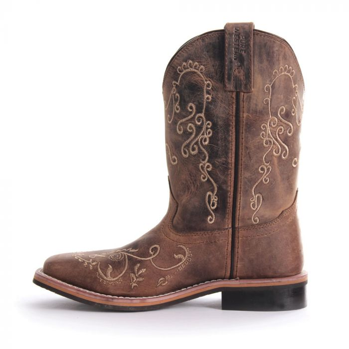 Pure Western Grace Childs Boot