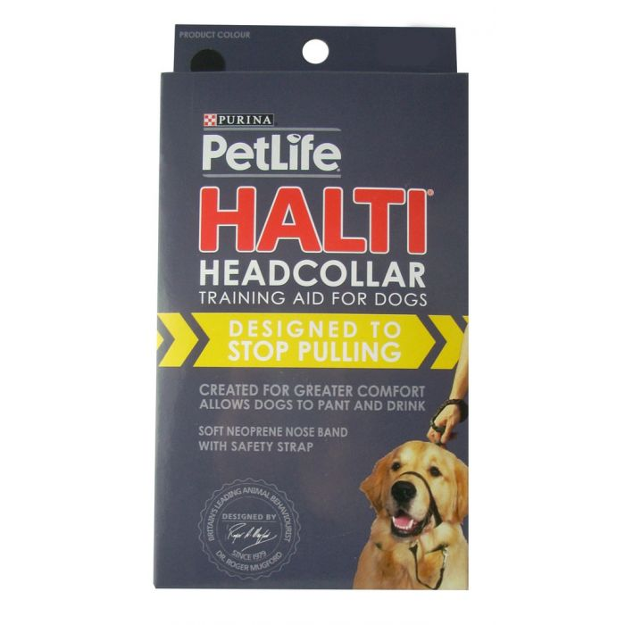 Kramar Halti - training aid to help stop dogs pulling on the lead