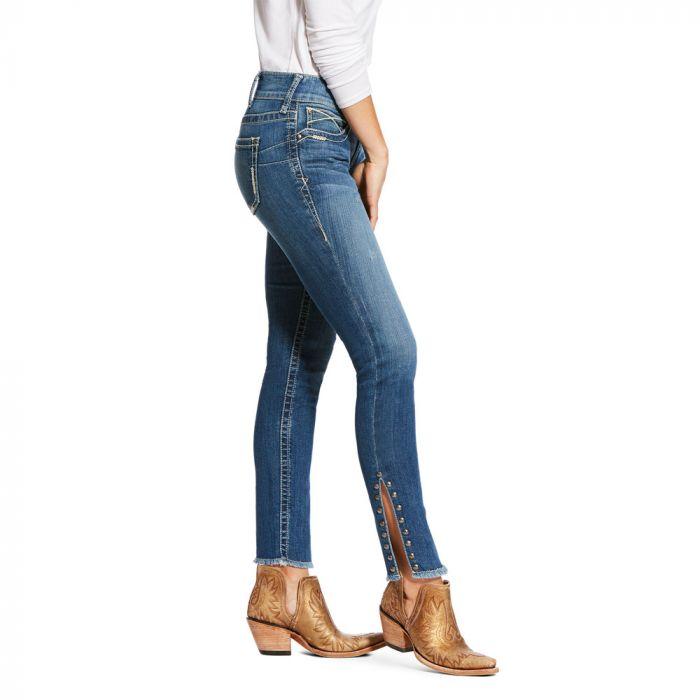 Ariat WNS R.E.A.L.Riding Jeans - Mid Rise - Skinny Leg - Hazel Elenaor