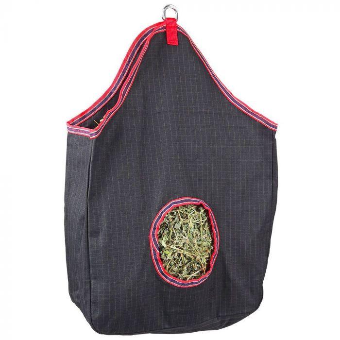 Hay Bag Heavy Duty - Black/Red