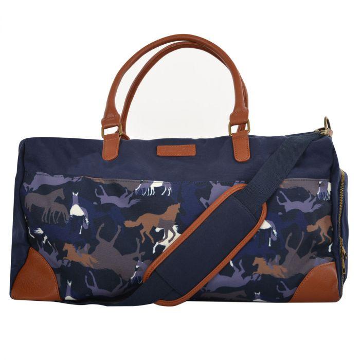 Thomas Cook Horse Print Duffle Bag