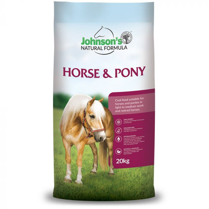 Horse and Pony 20kg - Johnsons