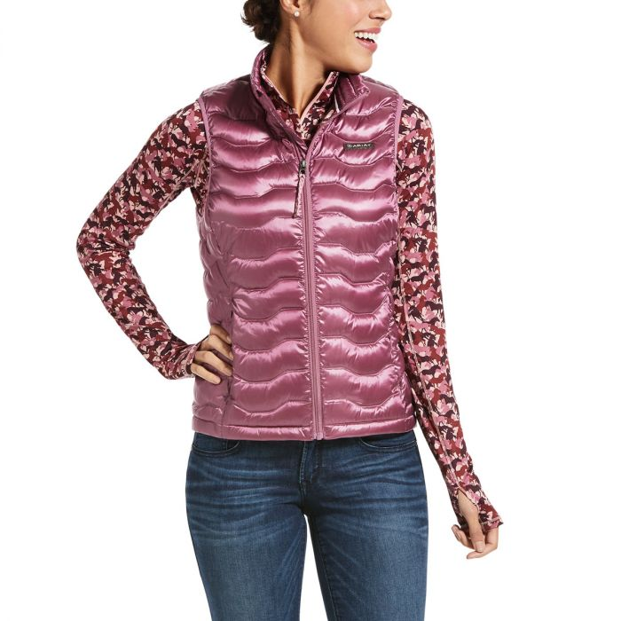 Ariat Womens Ideal Down Vest 3.0 -  Rose Cocoa