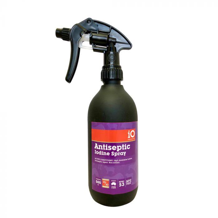 iO Antiseptic Iodine Spray - 500ml
