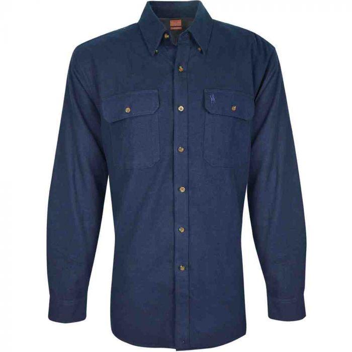 Thomas Cook Jerico Moleskin Long Sleeve Shirt