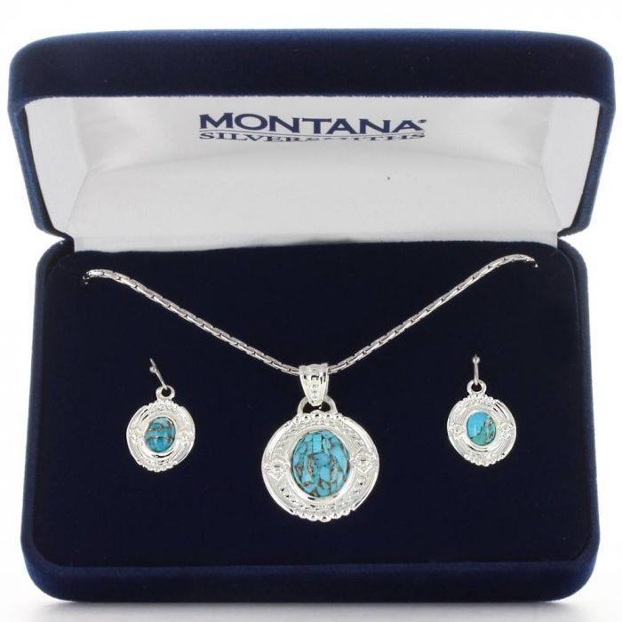 Montana Jewellery Set - Glacier Pools of Turquoise