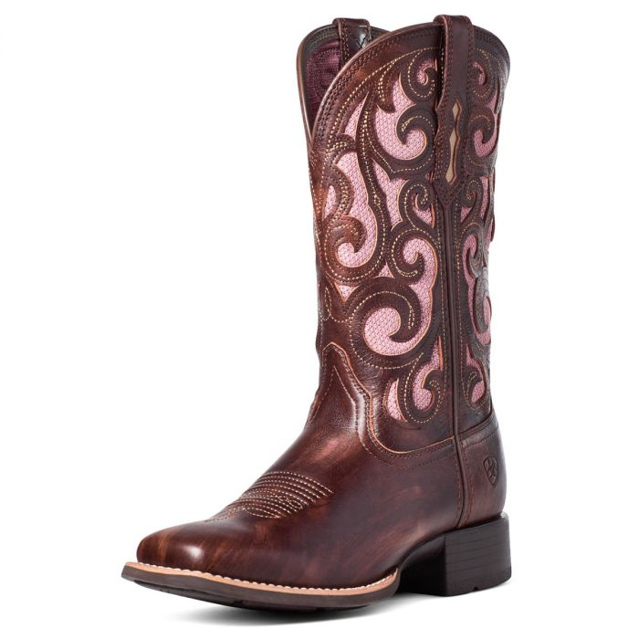 Ariat Karma VENTTEK Boots -  Yukon Brown