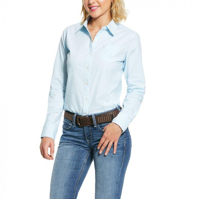 Ariat Kirby Wrinkle Resistant Stretch Shirt - September Sky