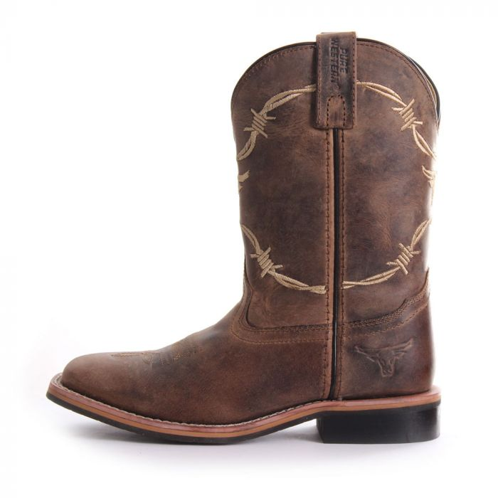 Pure Western Kit Childs Boot - Side