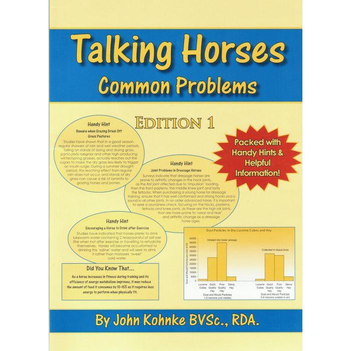 Book on  Horse health - Talking Horses by John Kohnke