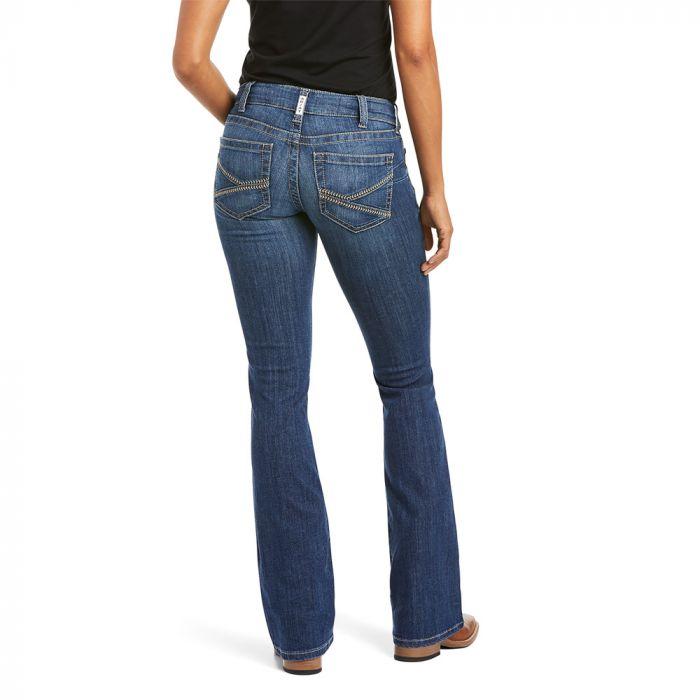 Ariat Women's R.E.A.L. Riding Jeans - Mid Rise - Boot Cut - Liliana - Irvine