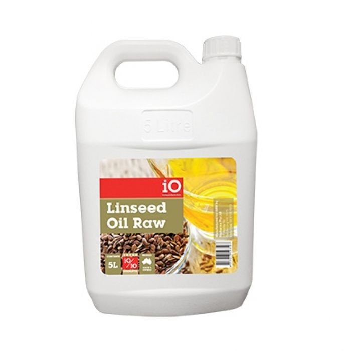 IO Raw Linseed Oil