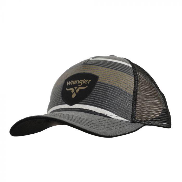 Wrangler Lodi Trucker Cap - Charcoal Marle