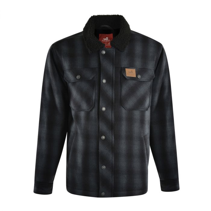 Dux Back Unisex Mallard Jacket - Charcoal