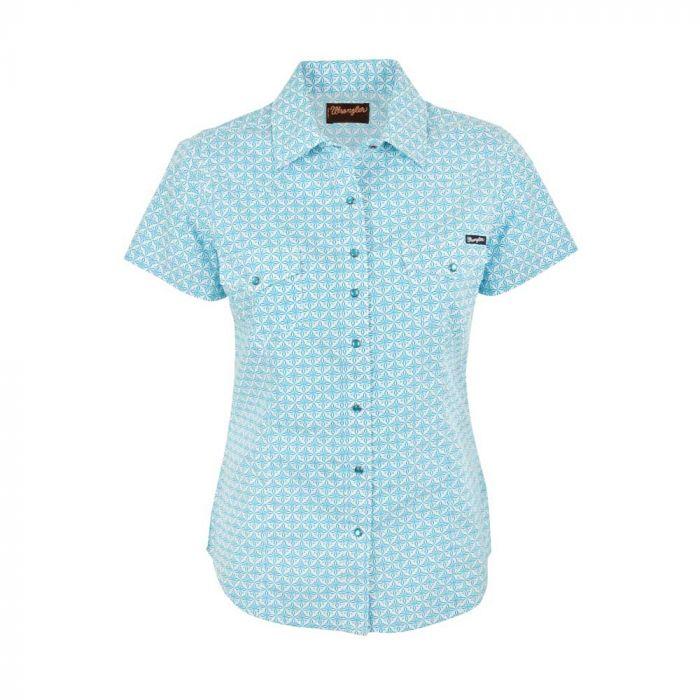 Wrangler Women's Marian S/S Print Shirt
